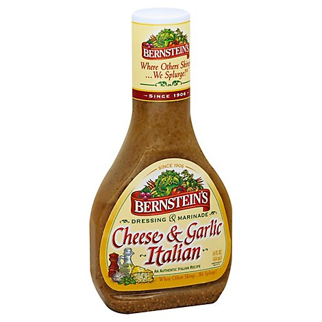 Bernsteins Dressing & Marinade Italian Cheese & Garlic - 14 Fl. Oz.