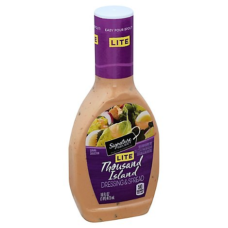 Signature SELECT Dressing & Spread Lite Thousand Island - 16 Fl. Oz.