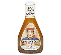 Newmans Own Dressing Family Recipe Italian - 16 Fl. Oz.