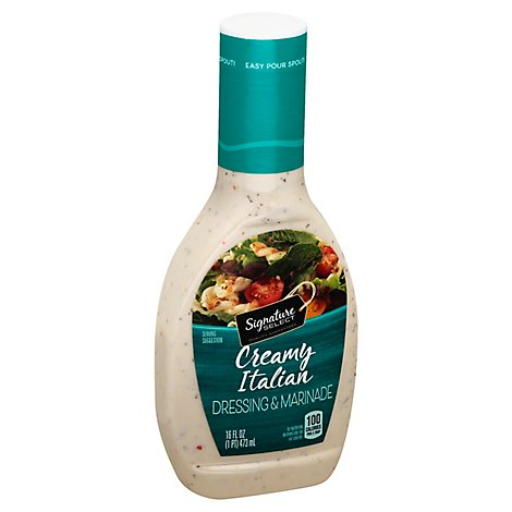 Signature SELECT Dressing & Dip Creamy Italian - 16 Fl. Oz.
