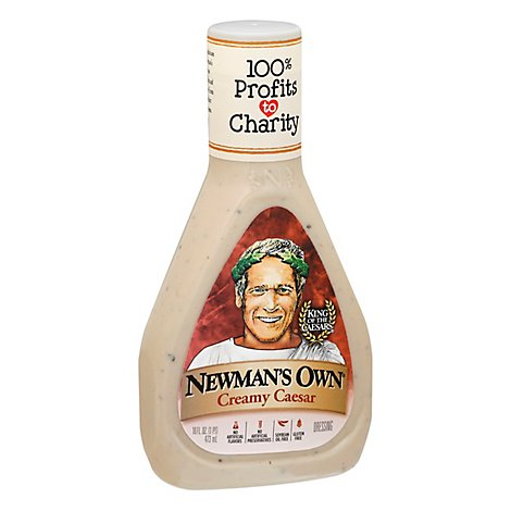 Newmans Own Dressing Creamy Caesar - 16 Fl. Oz.