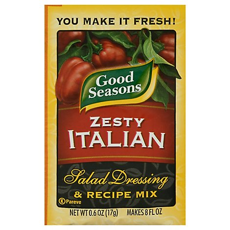 Good Seasons Salad Dressing & Recipe Mix Zesty Italian - 0.6 Oz