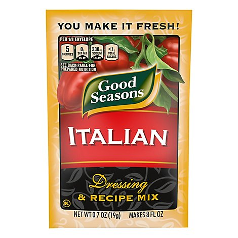 Good Seasons Salad Dressing & Recipe Mix Italian - 4-0.7 Oz