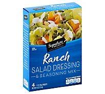 Signature SELECT Salad Dressing & Seasoning Mix Ranch Pack - 4-1 Oz