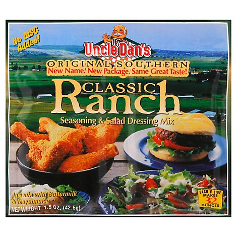 Uncle Dans Seasoning and Salad Dressing Mix Classic Ranch - 1.5 Oz