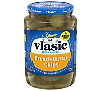 vlasic Pickles Chips Bread & Butter - 24 Fl. Oz.