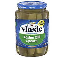 vlasic Pickles Spears Kosher Dill - 24 Fl. Oz.