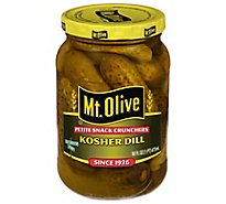 Mt. Olive Pickles Petite Snack Crunchers Kosher Dill - 16 Fl. Oz.