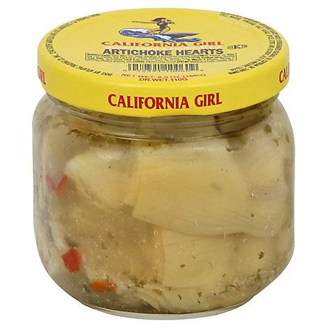 Cara Mia Marinated Artichoke Hearts Prepacked - 6.5 Oz