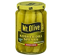 Mt. Olive Pickles Spears Kosher Dill - 24 Fl. Oz.