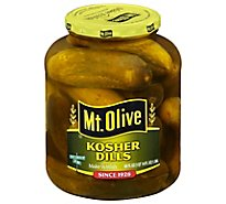 Mt. Olive Pickles Kosher Dills - 46 Fl. Oz.
