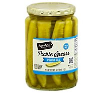 Signature SELECT Pickle Spears Polish Dill - 24 Fl. Oz.