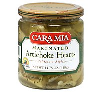 Cara Mia Marinated Artichoke Hearts Prepacked - 14.75Oz