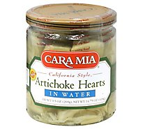 Cara Mia Artichoke Hearts Water Prepacked - 14.75 Oz