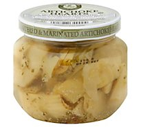Fanci Food Artichoke Hearts Quartered & Marinated - 6 Oz