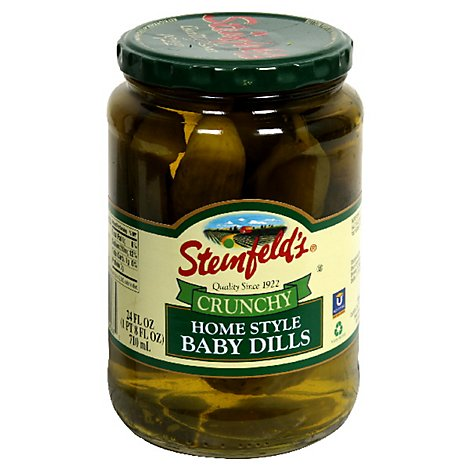 Steinfelds Pickles Home Style Crunchy Baby Dills - 24 Fl. Oz.