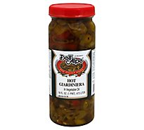 Dell Alpe Giardiniera Hot in Vegetable Oil - 16 Fl. Oz.
