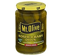 Mt. Olive Pickles Baby Kosher Dills - 24 Fl. Oz.