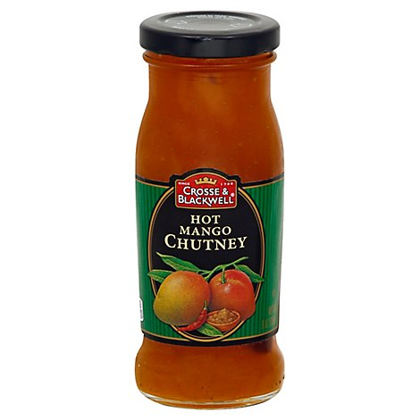 Crosse & Blackwell Chutney Original Recipe Hot Mango - 9 Oz