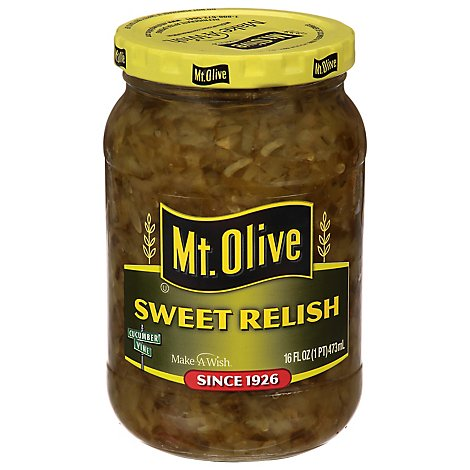 Mt. Olive Relish Sweet - 16 Fl. Oz.