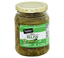 Signature SELECT Relish Dill - 10 Fl. Oz.