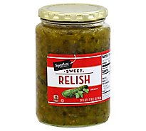 Signature SELECT Relish Sweet - 24 Fl. Oz.