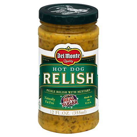 Del Monte Relish Hot Dog - 12 Fl. Oz.