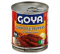 Goya Peppers Chipotle - 7 Oz