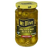 Mt. Olive Jalapeno Slices - 12 Fl. Oz.