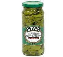 STAR Pepperoncini Imported Extra Tender Mild - 16 Fl. Oz.