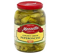 Mezzetta Peperoncini Greek Golden - 32 Oz