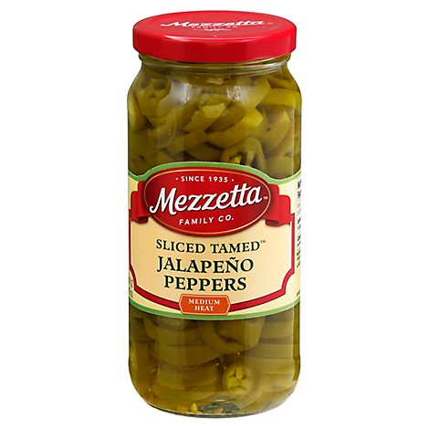 Mezzetta Peppers Jalapeno Deli-Sliced Tamed - 16 Oz