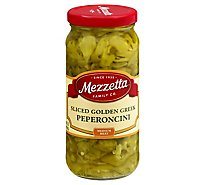 Mezzetta Peperoncini Deli-Sliced Greek Golden - 16 Oz