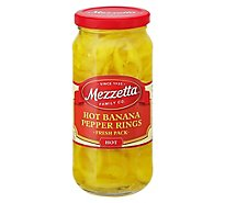 Mezzetta Pepper Rings Hot Deli-Sliced - 16 Oz