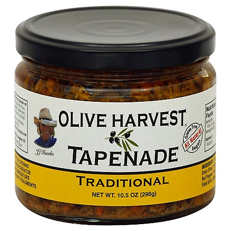Olive Harvest Olive Tapenade Traditional - 10.5 Oz