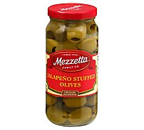 Mezzetta Olives Jalapeno Stuffed - 10 Oz