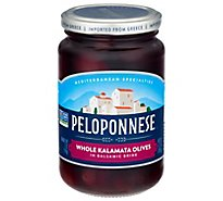 Peloponnese Gourmet Olives Black Whole Kalamata - 11.3 Oz
