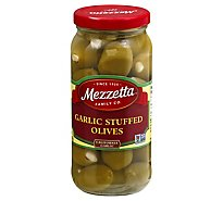 Mezzetta Olives Stuffed Garlic - 10 Oz