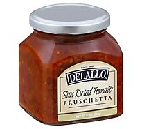 DeLallo Bruschetta Sun Dried Tomato - 10 Oz