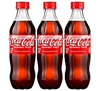 Coca-Cola Soda Classic Bottle - 6-16.9 Fl. Oz.
