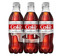 Diet Coke Soda Bottle - 6-16.9 Fl. Oz.