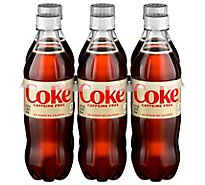Diet Coke Soda Caffeine Free Bottle - 6-16.9 Fl. Oz.