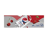 Pepsi Soda Diet Wild Cherry - 12-12 Fl. Oz.