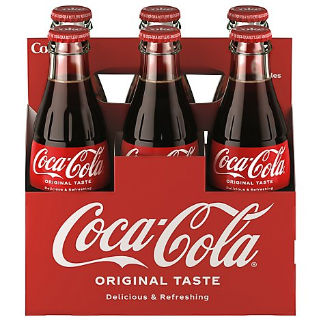 Coca-Cola Soda Pop Classic - 6-8 Fl. Oz.