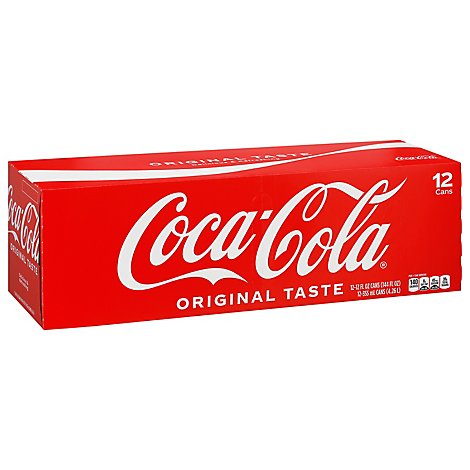 Coca-Cola Soda Pop Classic - 12-12 Fl. Oz.