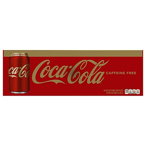Coca-Cola Soda Pop Caffeine Free - 12.12 Fl. Oz.