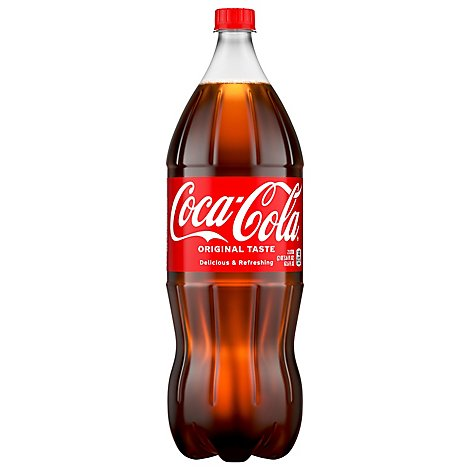 Coca-Cola Soda Pop Classic - 2 Liter