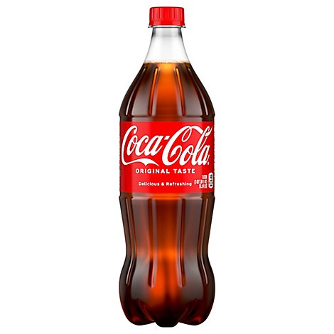 Coca-Cola Soda Pop Classic - 1 Liter