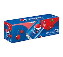 Pepsi Soda Cola Wild Cherry - 12-12 Fl. Oz.