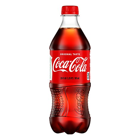 Coca-Cola Soda Pop Classic - 20 Fl. Oz.